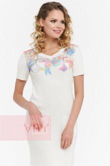 Платье женское 181-2329 Фемина (Молоко)