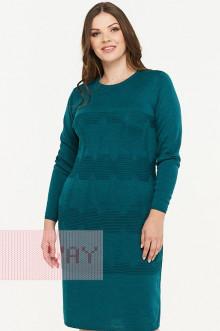 Платье женское 182-2309 Фемина (Темный изумруд)