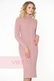 Платье женское 2297 Фемина (Темно-розовая дымка)