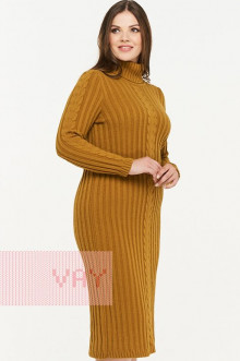 Платье женское 2297 Фемина (Горчица)
