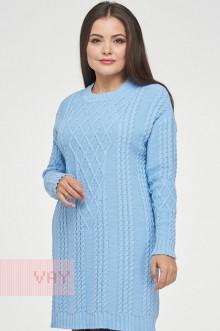 Туника женская 182-4805 Фемина (Светло-голубой)