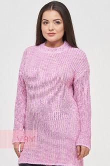 Туника женская 182-4819 Фемина (Розовый/розовый)