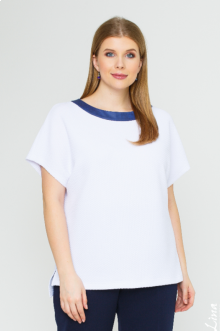 "Блуза ""Лина"" 1137 (Белый)"