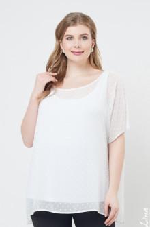 "Блуза ""Лина"" 1132 (Белый)"