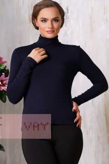 Блуза ВК-20 Фемина (Темно-синий)