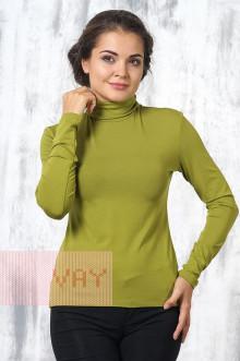 Блуза ВК-20 Фемина (Темная оливка)