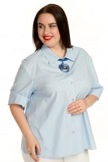 Рубашка 688 Luxury Plus (Голубой)