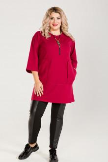 Платье-Туника 634 Luxury Plus (Красный)