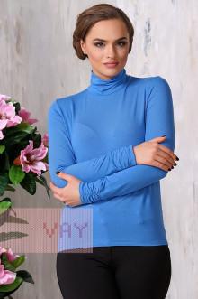 Блуза ВК-19 Фемина (Ярко-голубой)