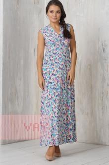 Платье женское 3283 Фемина (Акварель фуксия)