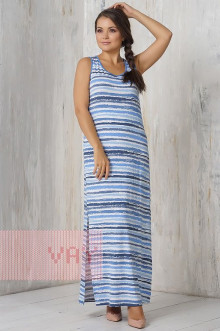 Платье женское 3289 Фемина (Море голубой)
