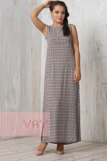 Платье женское 3206 Фемина (Марокко коричневый)