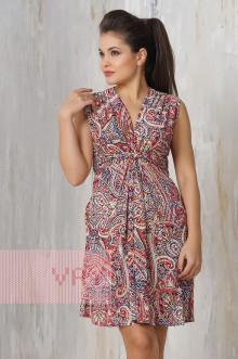Платье женское 3205 Фемина (Мозайка зеленый)