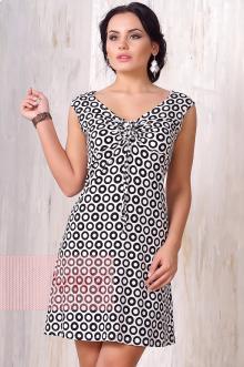 Платье женское 3203 Фемина (Круги)
