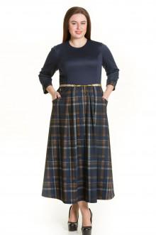 Платье 544 Luxury Plus (Синий)