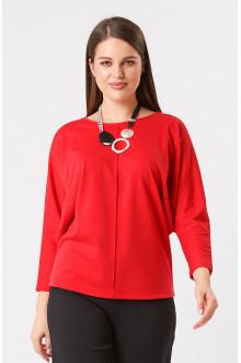 """Блуза """"Лина"""" 41104 (Красный)"""