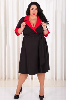Платье 020302 ЛаТэ (Черный)