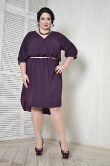 Платье-рубашка 099603 ЛаТэ (Бургунди)