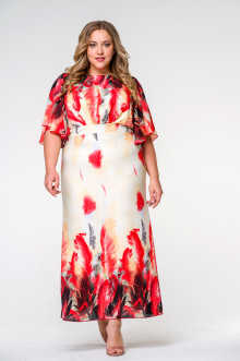 Платье 140104 ЛаТэ (Мультиколор)