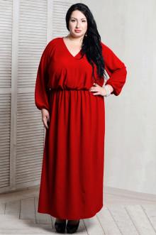 Платье 054802 ЛаТэ (Красный)