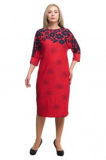 """Платье """"Олси"""" 1705023 ОЛСИ (Красный)"""