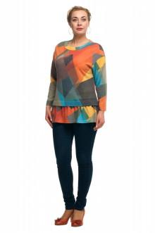 """Блуза """"Олси"""" 1710018V ОЛСИ (Цветной)"""
