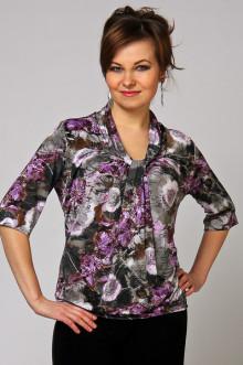 """Блуза """"СКС"""" 635 (Сиреневые одуванчики)"""