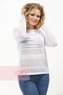"Джемпер ""Фемина"" 181-4706 (Белый)"