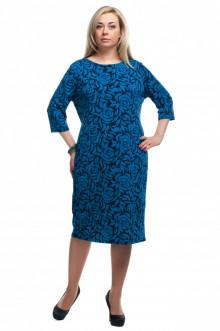 "Платье ""Олси"" 1605029/2 ОЛСИ (Синий)"