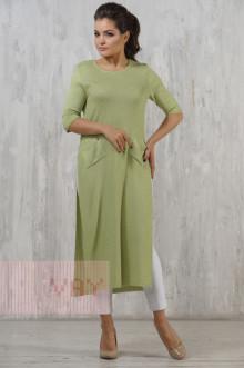 Платье женское 2225 Фемина (Яркая фисташка)