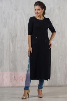 Платье женское 2225 Фемина (Темно-синий)