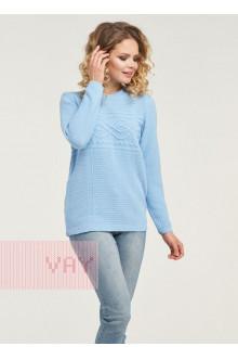 Джемпер женский 182-4693 Фемина (Светло-голубой)
