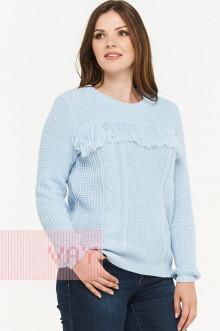 Джемпер женский 182-4689 Фемина (Жемчужно-голубой)