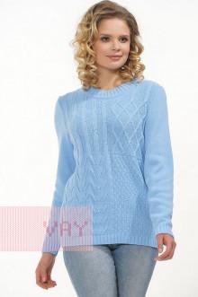 Джемпер женский 182-4685 Фемина (Светло-голубой)