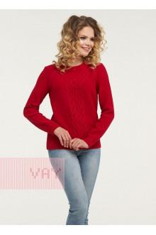 Джемпер женский 182-4680 Фемина (Красный)