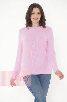 Джемпер женский 182-4680 Фемина (Розовый)