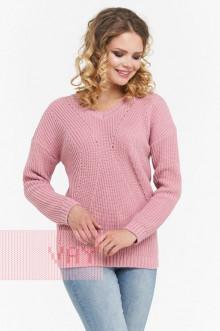 Джемпер женский 182-4679 Фемина (Розовая дымка)