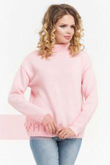 Джемпер женский 182-4670 Фемина (Жемчужно-розовый)