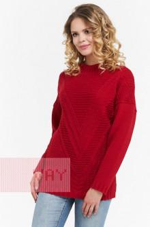 Джемпер женский 4580 Фемина (Красный)