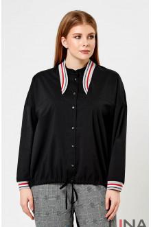 """Блуза """"Лина"""" 4181 (Черный)"""