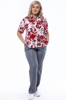 Блуза 0035-632 Грация Стиля (Красный)