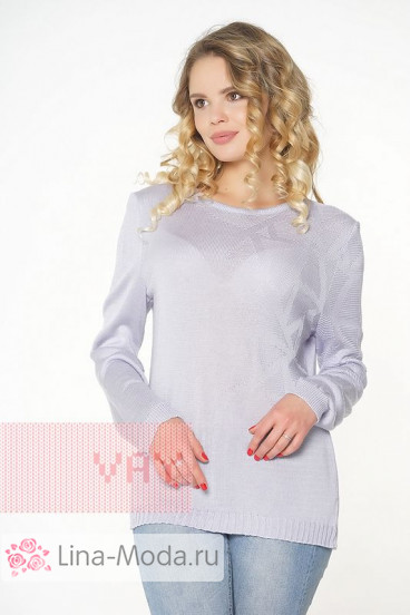 "Джемпер ""Фемина"" 181-4701 (Сирень)"